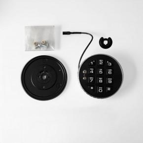 LA GARD 3035 Eingabeeinheit -flach- feststehend + drehbar, robuste langlebige Gummitasten - für LG BASIC Swingbolt + Deadbolt (BENÖTIGT BATTERIEFACH)