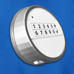 M-Locks Set8-2 Elektronikschloss MotorLock Motorschloss Tresorschloss EM3050 + Echo weiss